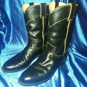 Ladies JUSTIN BOOTS size 7 1/2 B vintage!